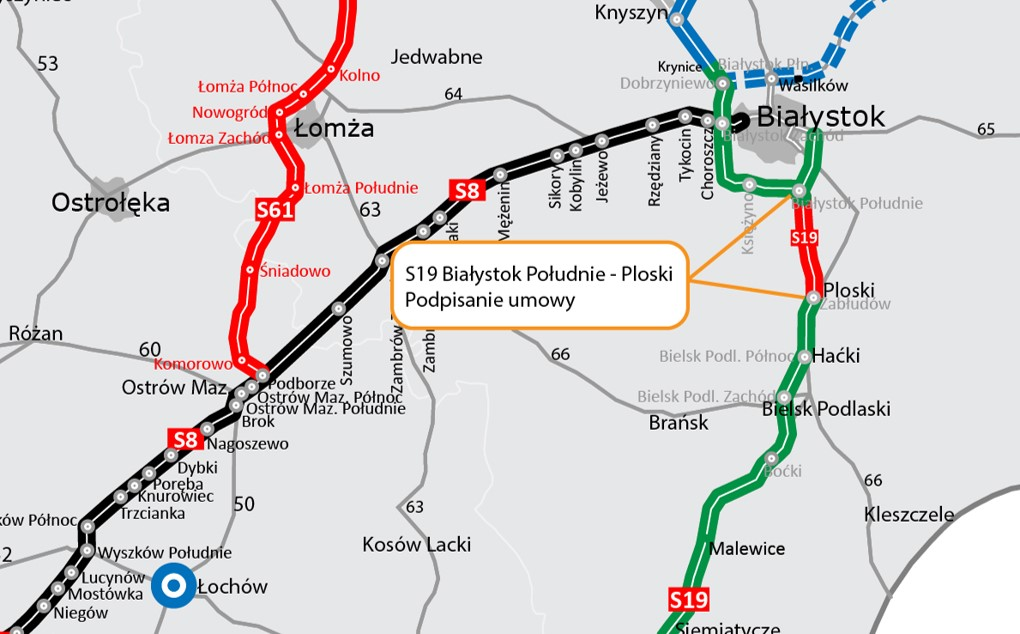 Mota-Engil with the contract for the implementation of the Podlasie section of the S19 Via Carpatia route